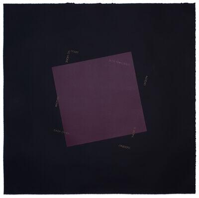 Robert Barry, 'Untitled', 1990