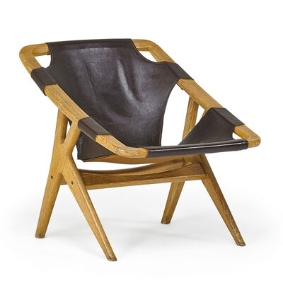 Arne Ruud Holmenkollen, 'Arne Ruud Holmenkollen For Norcraft Lounge Chair', 1960s