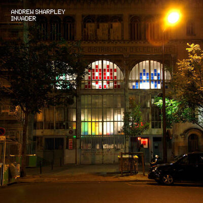 Invader, 'Andrew Sharpley Collaboration Vinyl Album', 2021