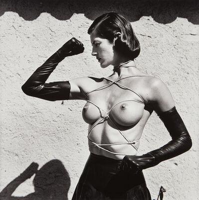 Helmut Newton, 'Tied-Up Torso, Ramatuelle', 1980