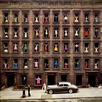 Ormond Gigli, 'Girls in the Windows', 1960