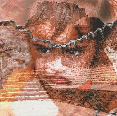 Moudhi Alhajri, 'Print on canvas ', 2016