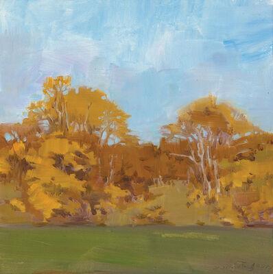 Marilyn Turtz, 'Yellow Trees in Autumn'