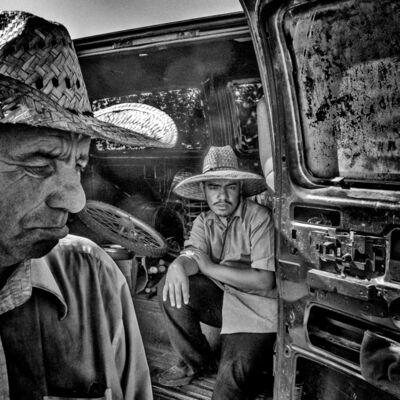 Matt Black, 'Flea market. Tulare, CA. ', 2014
