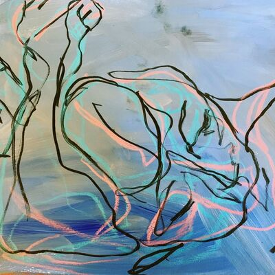 Sima Schloss, 'Blue Sea', 2019