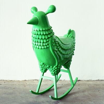 Jaime Hayon, 'Green Chicken', 2008