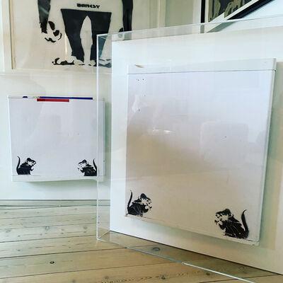 Banksy, 'Four bowler Hat Rats / Lock Pick Rats of fridge doors.', 2003-2004