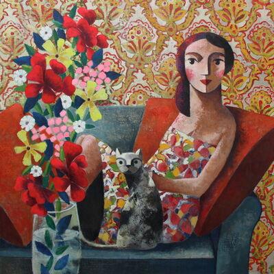 Didier Lourenço, 'Flores, gato y yo', Flores-gato y yo