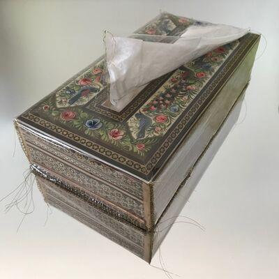 "Nassem Navab, 'Tissue Box from ""Refuge"" Installation', 2019"