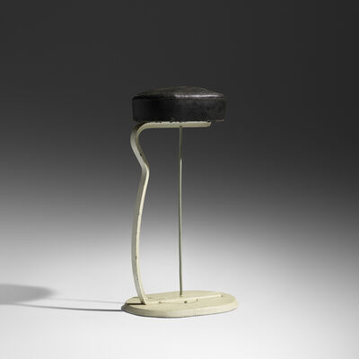 Eileen Gray, 'Rare and Important stool for Tempe a Pailla', 1932-1934