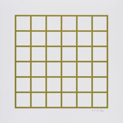 Olivier Mosset, 'Unititled (Grid)', 2019