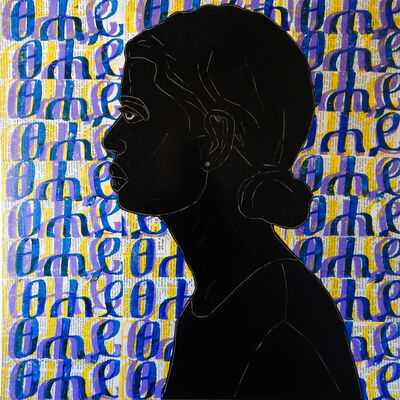 Ephrem Solomon, 'Silence Series 16', 2017