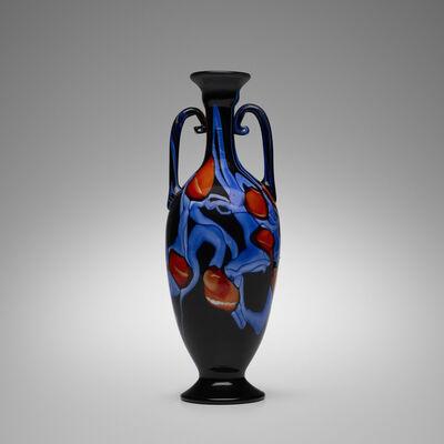 Vetreria Artistica Barovier, 'Monumental a Murrine Floreali vase', c. 1920