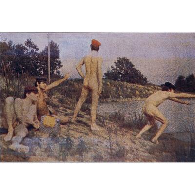 Alain Jacquet, 'Thomas Eakins Swimming Hole', 1966-1968