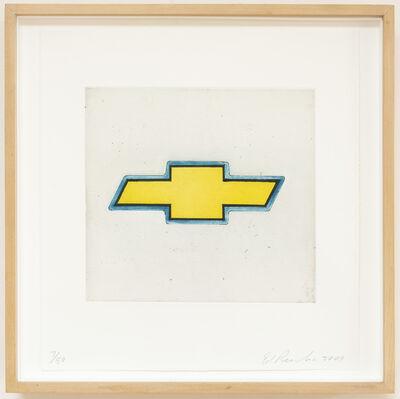 Ed Ruscha, 'Chevrolet (Motor City)', 2009