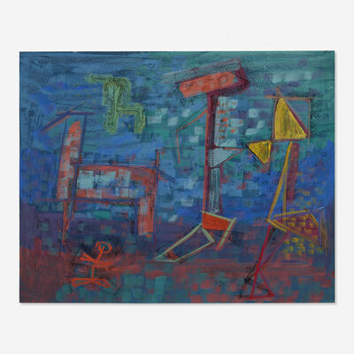 Louis Schanker, 'Untitled'