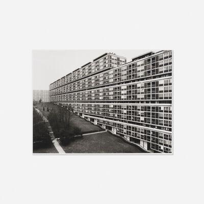 Thomas Struth, 'Le Lignon (Horizontal) Geneva', 1989