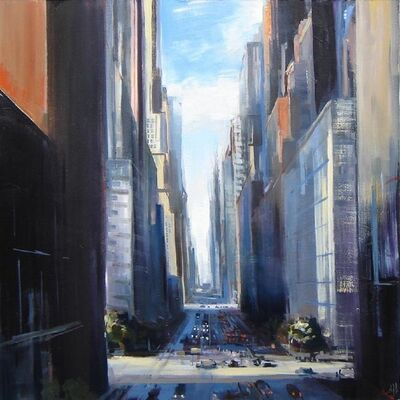 Craig Mooney, 'Late Day City Light', 2016
