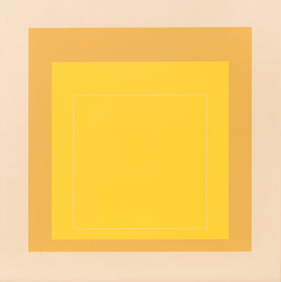 Josef Albers, 'WLS - X (from White Line Squares (Series II)', 1966