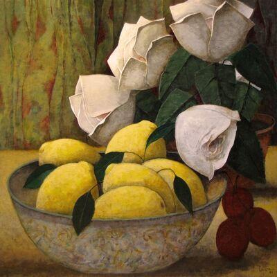 Pierre Lefebvre, 'Citrons et fleurs', 2020