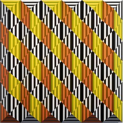Roland Helmer, 'Gelb, orange, schwarz, weiß', 2020