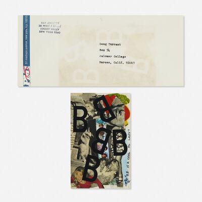 Ray Johnson, 'Untitled (B.B. is a Cool Ol Lady)', 1972