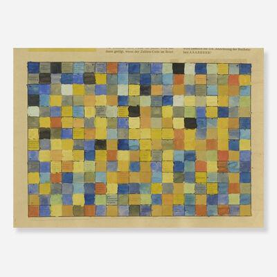 Stephen Dean, 'Untitled (Crossword: Zuri Woche)', 1995