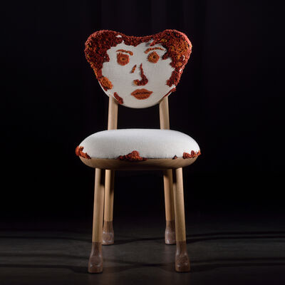 "Pierre Yovanovitch, '""Catherine"" Madame Oops Chair', 2019"