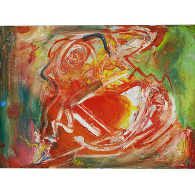 Hans Hofmann, 'The Male', Executed in 1950.
