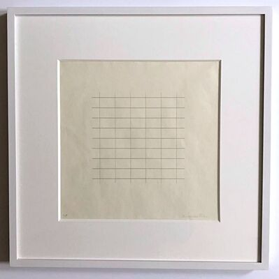 Agnes Martin, 'On a Clear Day (one plate)', 1973