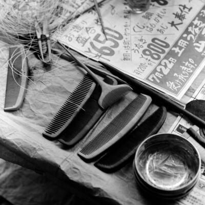 Toshio Enomoto, '073-Hairdressing tools, Shimabara', 1982