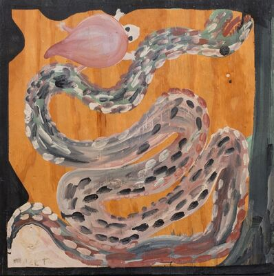 Mose Tolliver, 'Untitled (Snake & Turtle) ', ca. 1990