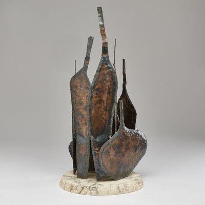 Marcello Fantoni, 'Brutalist bottles sculpture', 1960s