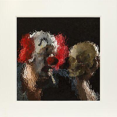 Marcus Harvey, 'Clown With Skull', 2012