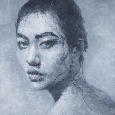 Vitaliano, 'Studio di donna IV', 2014