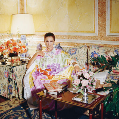 Horst P. Horst, 'Around That Time - Jacqueline de Ribes', 1984