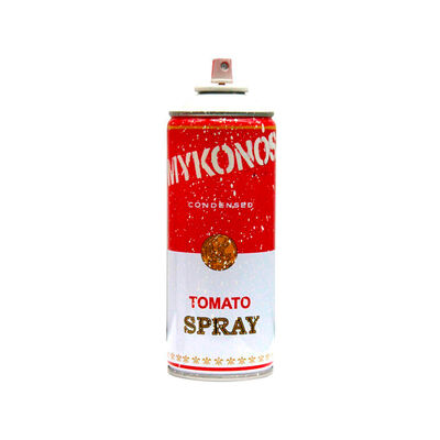 Mr. Brainwash, 'Mykonos White Tomato Spray', 2019