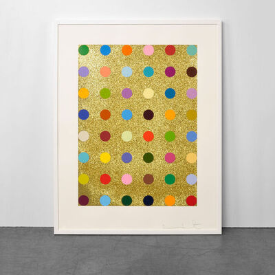 Damien Hirst, 'Aurous Iodide (with Gold Glitter)', 2009