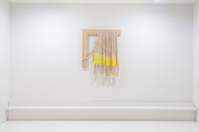 Frances Trombly, 'Weaving (Weld with Canvas Warp)', 2020