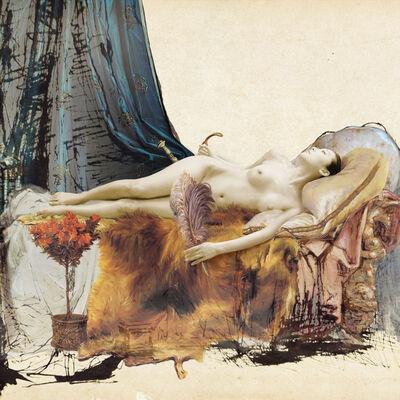 Joonsung Bae, 'The Costume of Painter - A.Tadema drawing', 2015