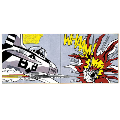 Roy Lichtenstein, 'Whaam!', 2013