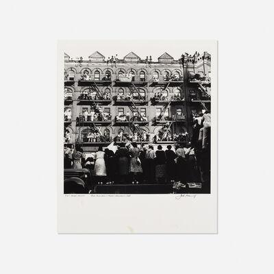 Jack Manning, 'Elk's Parade, Harlem', 1938