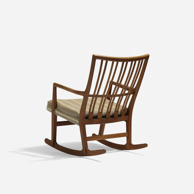 Hans Jørgensen Wegner, 'rocking chair', c. 1945