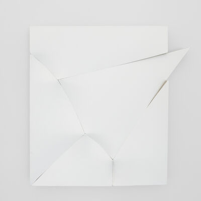 Jan Maarten Voskuil, 'Similar Painting Different Object (White Unlimitation #2)', 2019