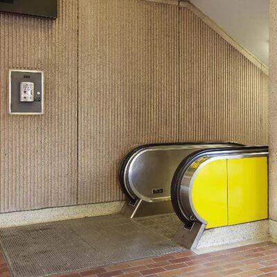 Chris Shepherd, 'Davisville Station Escalator, Toronto', 2014