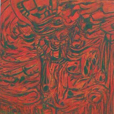 Alberto Teixeira, 'Vermelho e o verde nº 22', 1986