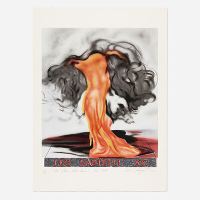 James Rosenquist, 'The Flame Still Dances on Leo's Book (from the Leo Castelli 90th Birthday portfolio)', 1997