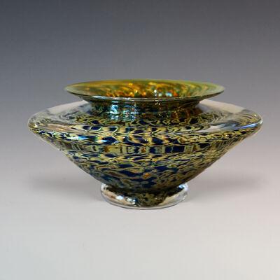 Gartner Blade, 'Large Yellow Ikebana Bowl'
