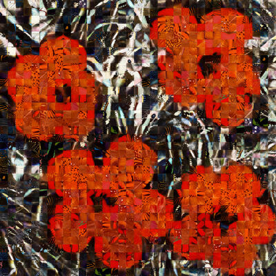Andrea Morucchio, 'Hibiscus 03 | Puzzling Pop series | Revisiting Andy Warhol's Flowers ', 2020