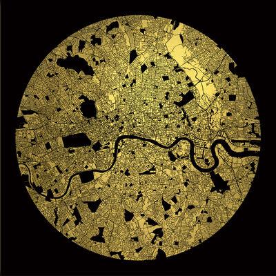 Ewan David Eason, 'Mappa Mundi London', 2016